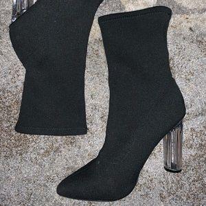 Fashion nova sock booties
